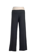 The Softest Yoga Maternity Pant (Black) by Majamas
