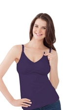 Bravado Essential Nursing Bra Tank (Dark Plum) by Bravado