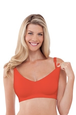 Bravado Body Silk Seamless Nursing Bra (Tiger Lily) by Bravado