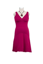 The Sleepy Dress - Organic (Merlot) by Majamas