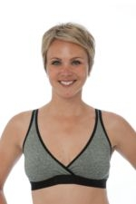 La Leche League Sleep Bra (Black Jacquard) by La Leche League International