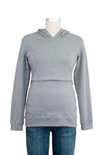 B-Warmer Knitted Nursing Hoody by Boob