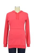 B-Warmer Knitted Nursing Hoodie (Red) by Boob