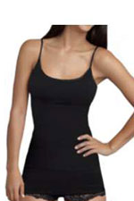 Yummie Tummie T Strappy  Long Tank (Black) by Yummie Tummie