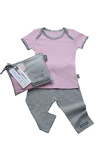 Babysparewear Mini Makeover Kit (Light Pink/Grey) by Babysparewear