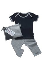 Babysparewear Mini Makeover Kit (Navy/Grey) by Babysparewear