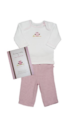 Whooo's the Cutest Baby Girl Gift Set (Whooo's the Cutest) by B Amici