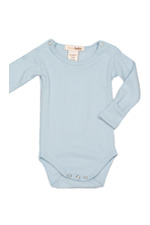 L'ovedbaby Gl'oved-Sleeve Baby Boy Bodysuit (True Blue) by L'ovedbaby