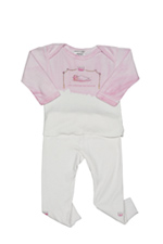 The Princess Has Arrived 2-Piece Outfit (Pink Little Princess) by She's the One