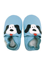 Bobux Original Blue Dog Baby Shoes (Light Blue) by Bobux