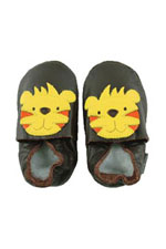 Bobux Original Tiger Baby Shoes (Chocolate Brown) by Bobux