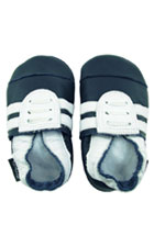 Bobux Baby Sport Shoe (Navy/White) by Bobux