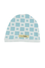 L'ovedbaby Cute Baby Boy Cap (Blue Tile) by L'ovedbaby