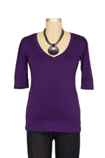 The Michelle Nursing Top (Purple) by Milkstars