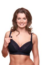 Bravado Sublime Nursing Bra (Black Purple) by Bravado