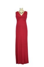 JW D&A Nursing Maxi Dress (Burgundy) by Japanese Weekend