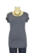 The Jenny Nursing Top (Grey) by Milkstars