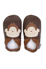 Bobux Original Monkey Baby Shoes (Chocolate) by Bobux