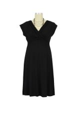 Twinkle Nursing Dress (Black) by Dote