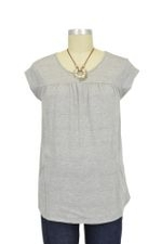Lindsay Pocket Nursing Top (Heather Grey) by Dote
