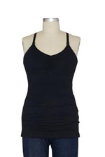 Ripe Ultimate Express Nursing Tank (Black) by Ripe Maternity
