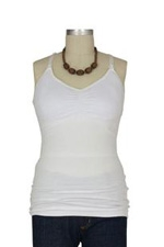 Ripe Ultimate Express Nursing Tank (White) by Ripe Maternity