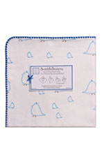 Swaddle Designs Ultimate Receiving Blanket (Blue Chickies) by SwaddleDesigns