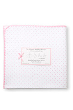 Swaddle Designs Ultimate Receiving Blanket (Pink Polka Dots) by SwaddleDesigns