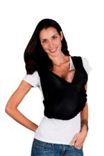 Baby K'tan Breeze Baby Carrier (Black with Mesh) by Baby K'tan