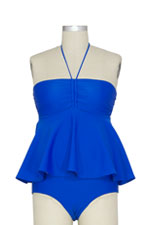 The Lucina Nursing Tankini (Cobalt) by Larrivo