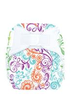 bumGenius Newborn All-In-One Cloth Diaper (Lovelace) by bumGenius
