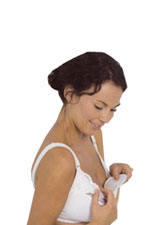 Carriwell Natural Silk Washable Breast Pads () by Carriwell