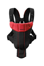 BabyBjorn Baby Carrier Active (Black/Red) by BabyBjorn