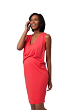 Ingrid & Isabel Front Drape Dress (Poppy) by Ingrid & Isabel