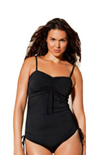 Boob Fast Food Nursing Swim Suit (Black) by Boob