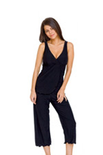 Majamas Pachisi Nursing PJ Set (Black) by Majamas
