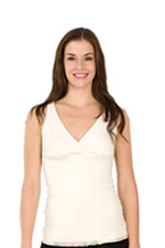 The Organic X-Long Original Nursing Tank (Ivory) by Majamas
