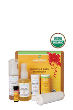 Mambino Organics Mommy & Baby Bonding Kit (6 pcs) () by Mambino Organics