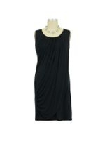 Goddess Drape Nursing Tunic (Black) by Mothers en vogue