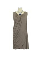 Goddess Drape Nursing Tunic (Cobblestone) by Mothers en vogue