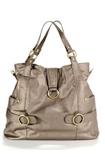 Timi & Leslie Hannah Diaper Bag (Pewter) by timi & leslie