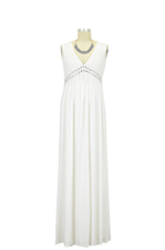 Brunetta Maternity Gown (Ivory) by Sono Vaso Lifestyle Maternity