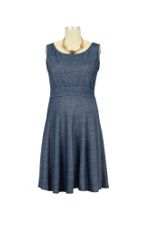 Emma Nursing Dress (Denim) by Dote