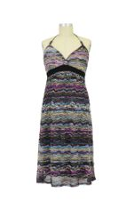 Amethyst Airy-Knit Maternity Dress (Mauve Mix) by Jules & Jim