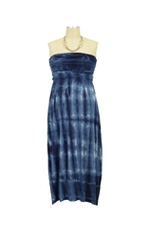 Marley Maternity Dress (Navy Squares) by NOM
