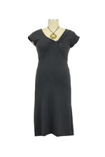 The Sea Nursing Dress (Charcoal) by Majamas