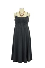 The Park Nursing Dress (Charcoal) by Majamas