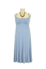 The Park Nursing Dress (Pearl Blue) by Majamas