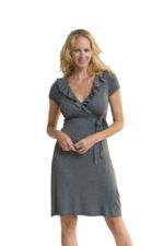 The Breezy Nursing Dress (Charcoal) by Majamas