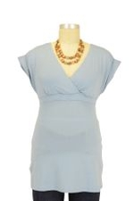 The Treasure Nursing Top (Pearl Blue) by Majamas